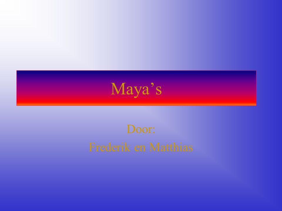 Maya's Door: Frederik en Matthias