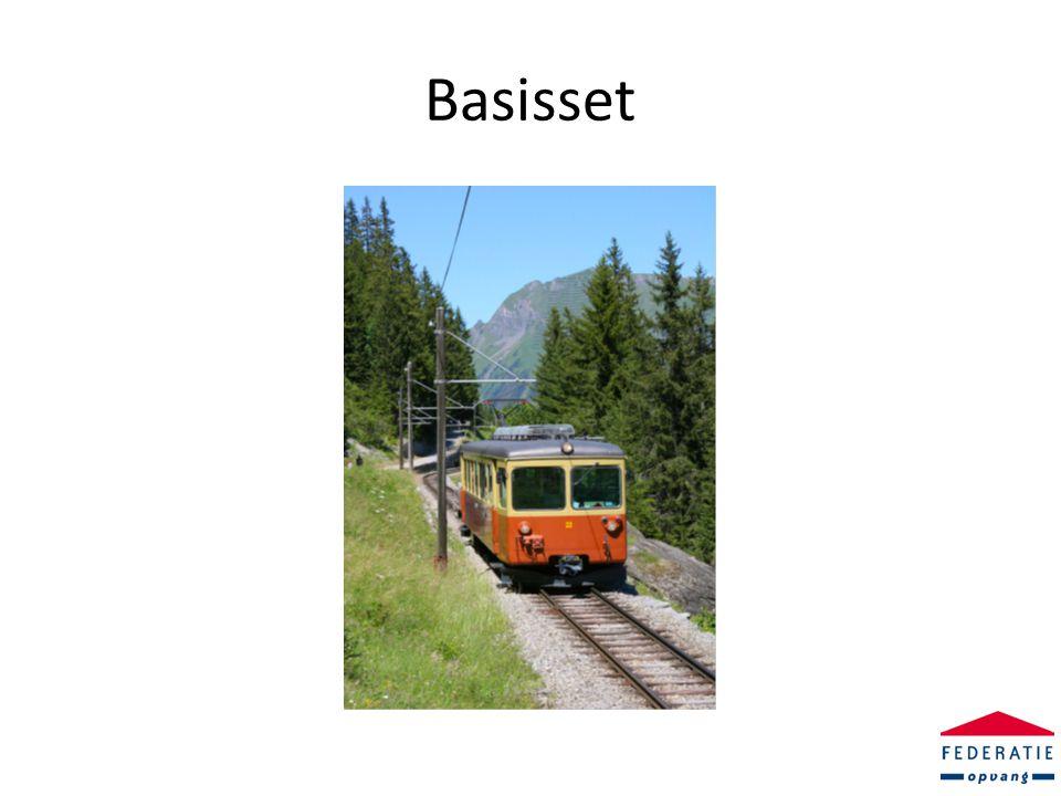 De trein vertrekt • De basisset prestatie-indicatoren is gereed • De CQ indexen zijn of worden afgenomen • De benodigde gegevens uit de gegevensset FO worden bijgehouden.