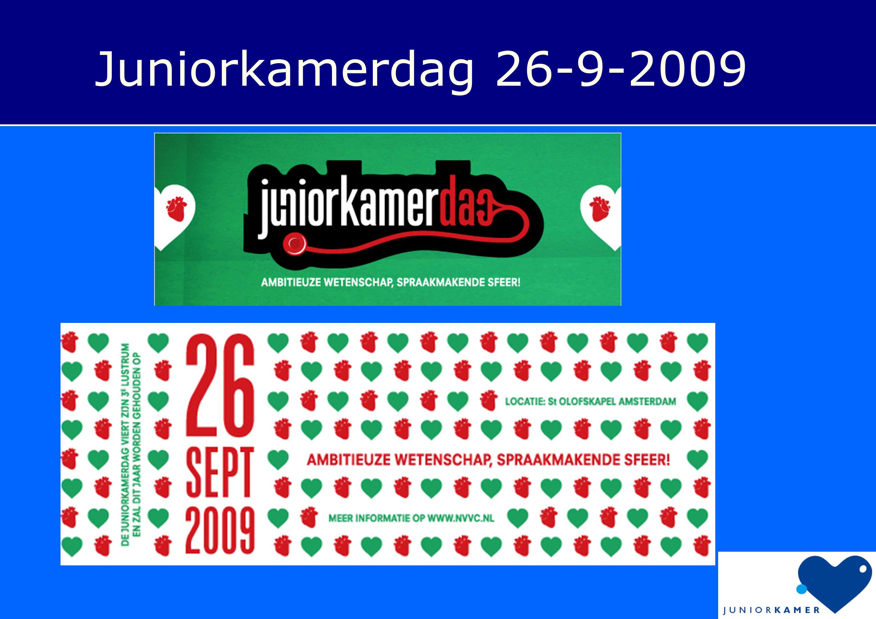 Juniorkamerdag 26-9-2009