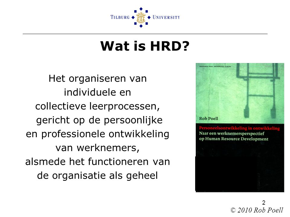 2 Wat is HRD.
