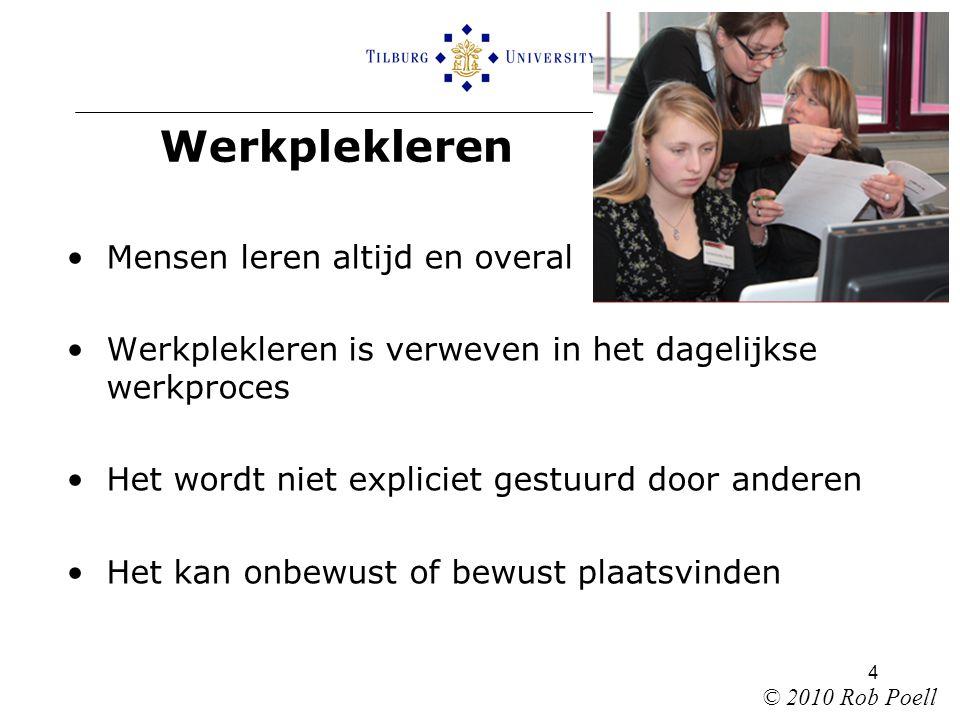 15 Dank voor uw aandacht !  R.Poell@uvt.nl © 2010 Rob Poell