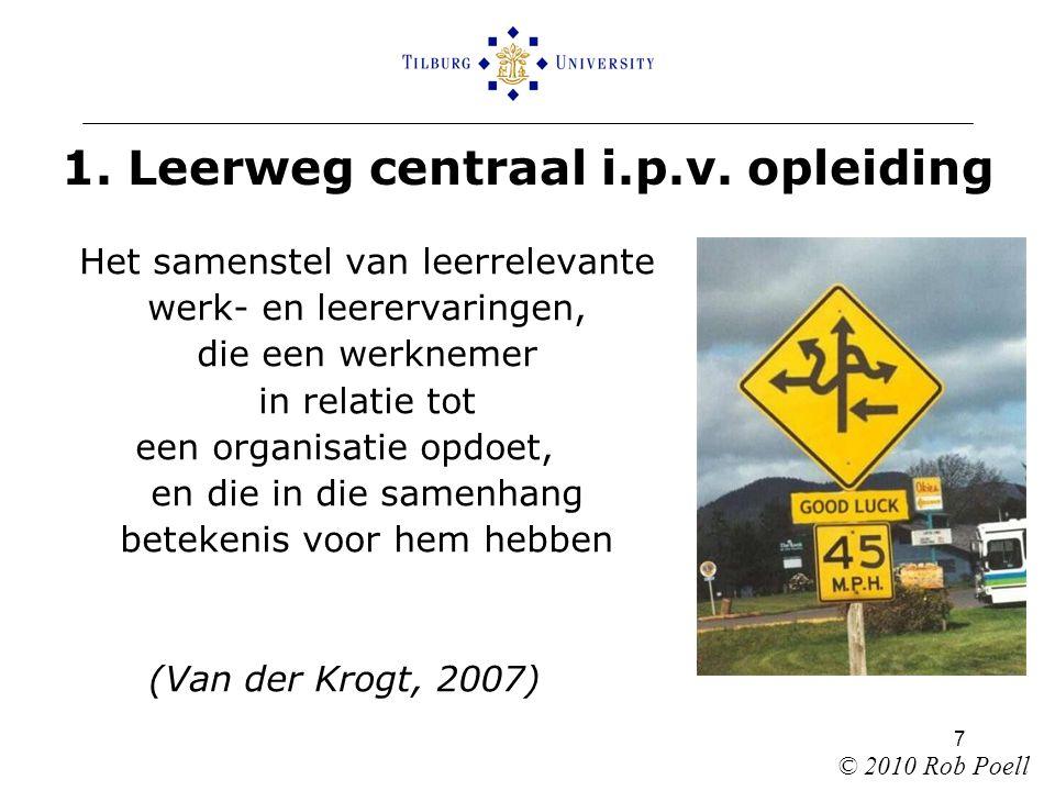 7 1. Leerweg centraal i.p.v.
