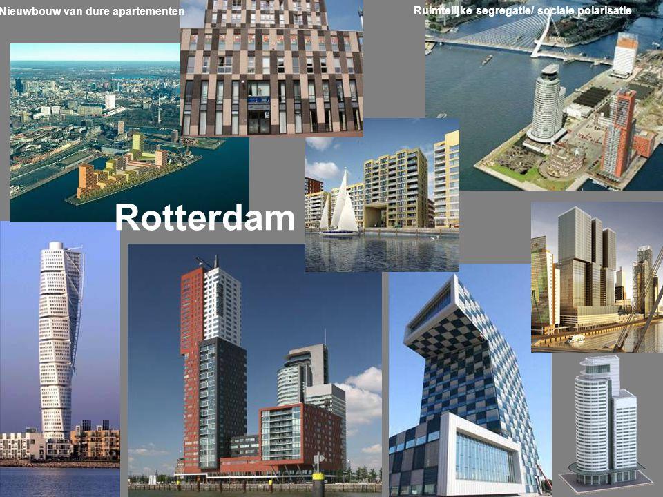 Nieuwbouw van dure apartementen Rotterdam