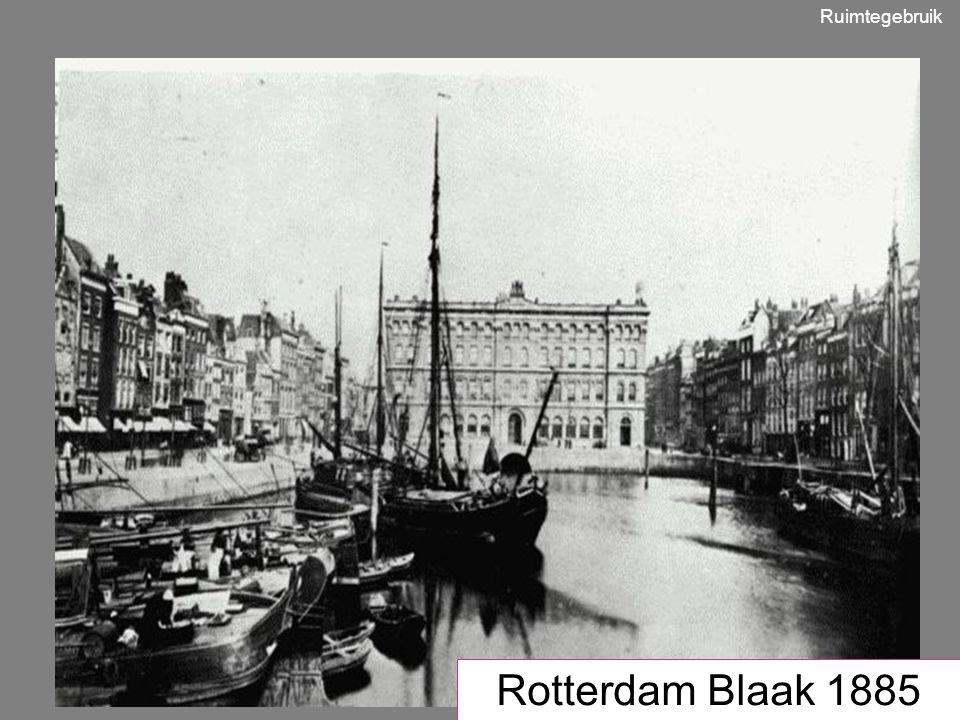 1950 Rotterdam Blaak 1885 Ruimtegebruik