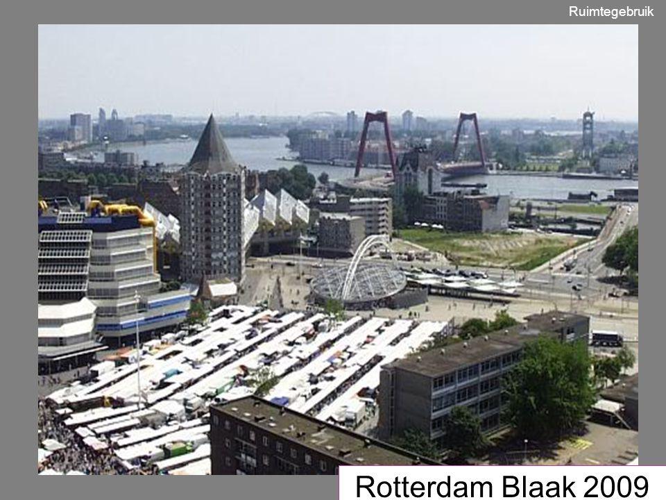 Rotterdam Blaak 2009 Ruimtegebruik