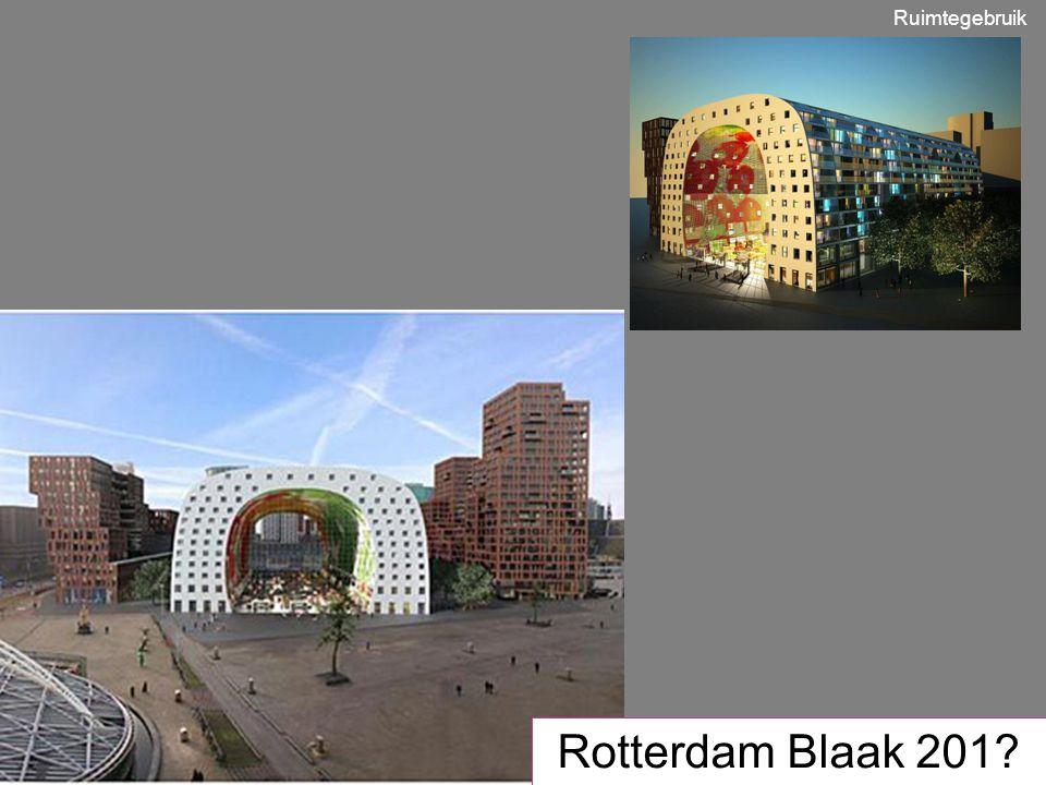 Rotterdam Blaak 201? Ruimtegebruik