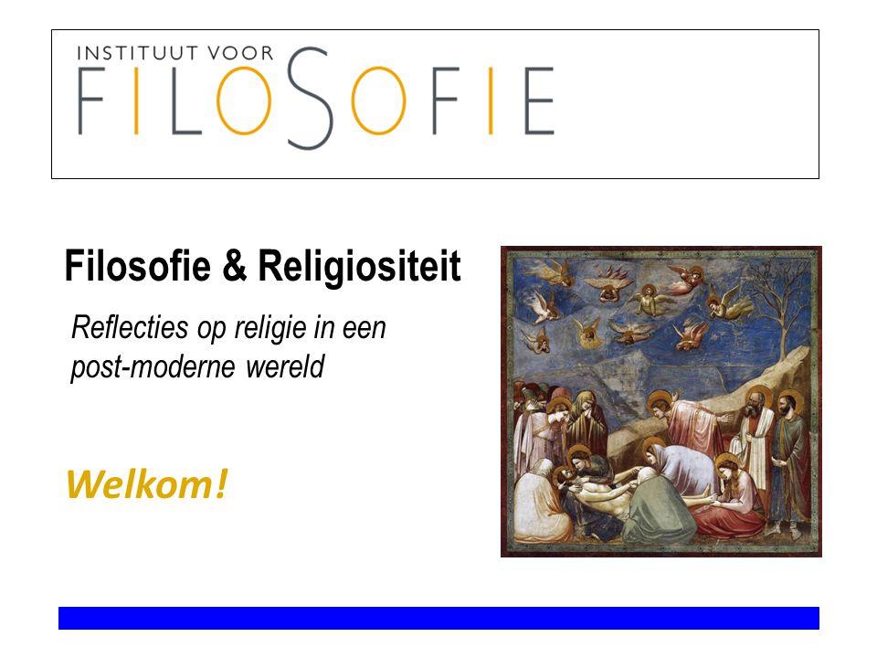 Filosofie & Religiositeit 18, 20, 25, 26, 27 oktober geen les.