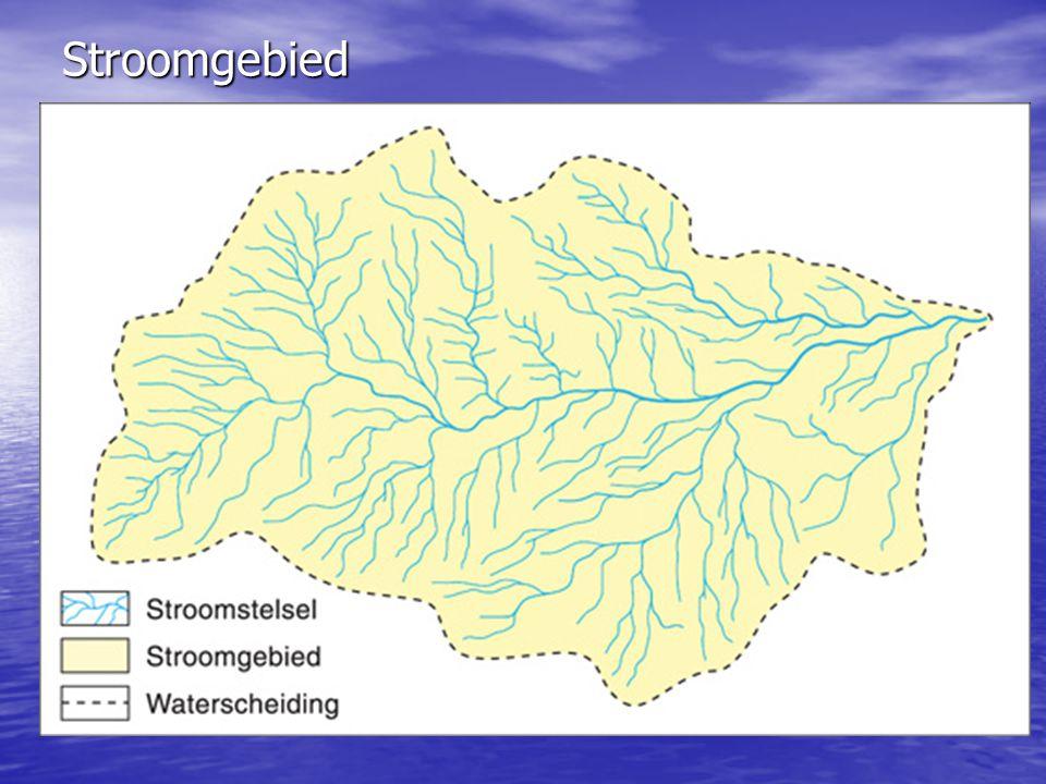 Stroomgebied Bovenloop Benedenloop Middenloop Hoofdrivier Zijrivier Bijrivier