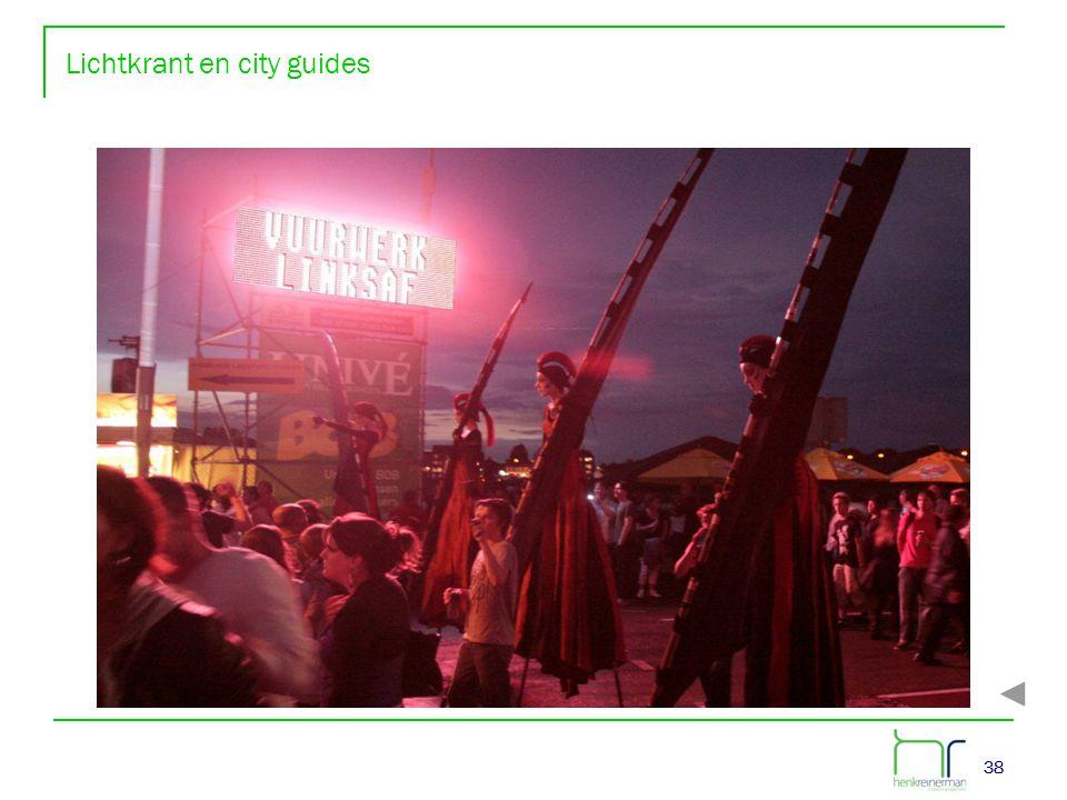 38 Lichtkrant en city guides