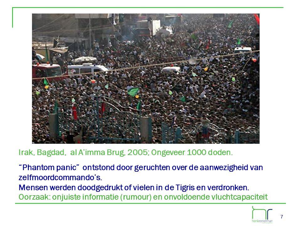 18 • Voorkomen van te dichte mensenmassa s •Reguleren van mensenmassa's Beheers de publieksdichtheid Hoe?