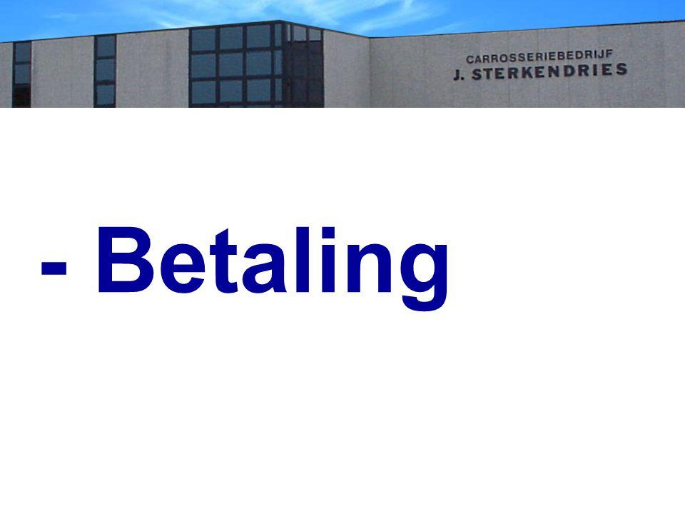 - Betaling