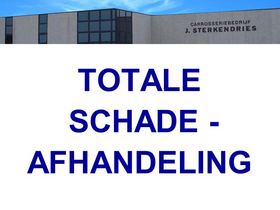 TOTALE SCHADE - AFHANDELING