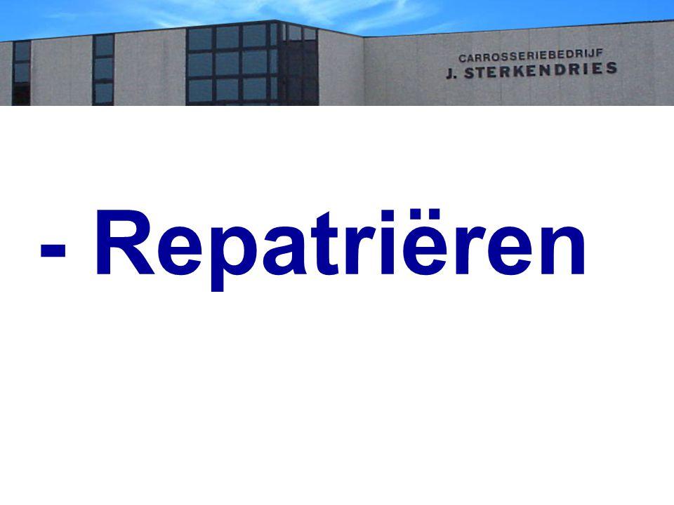 - Repatriëren