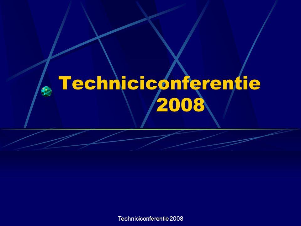 Techniciconferentie 2008