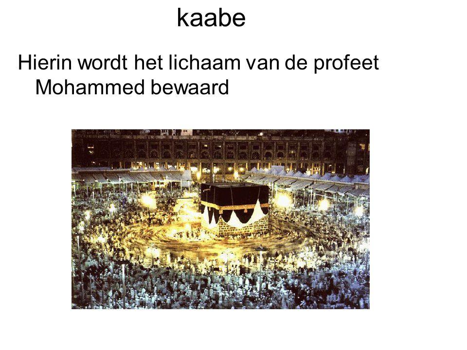 Oorsprong islam •De islam is ontstaan in de 7e eeuw.