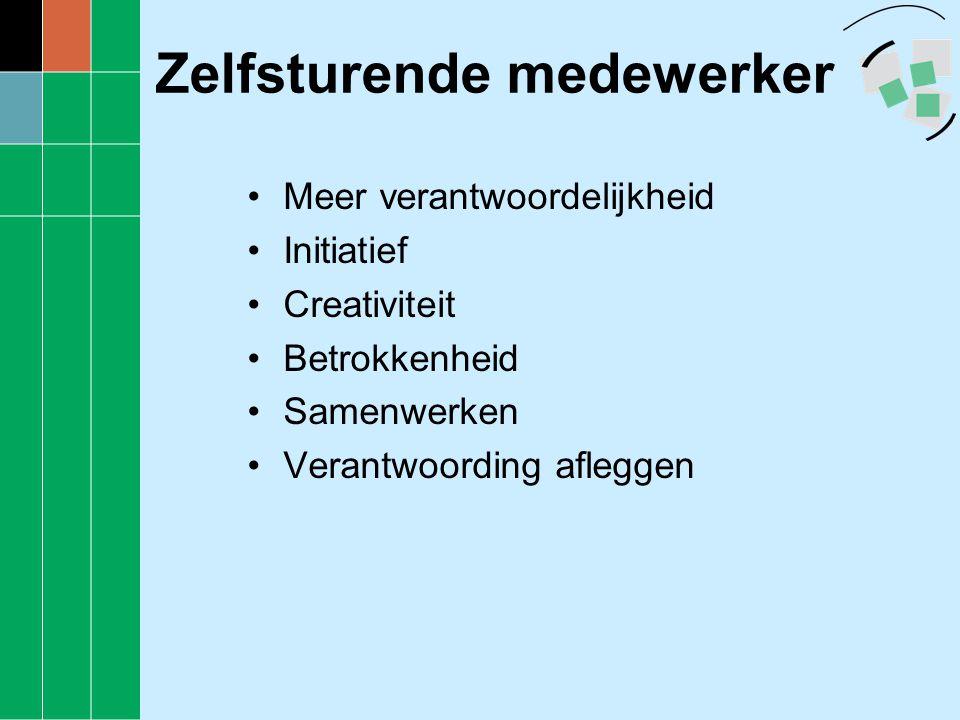 Sturingsinstrumenten •Beleidsplan en bestuursopdrachten •Werkdocument •Persoonlijk resultaten- en ontwikkelingsplan (Prop)