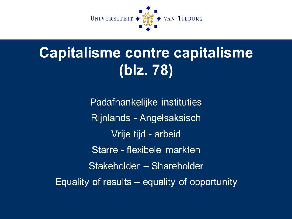 Capitalisme contre capitalisme (blz.
