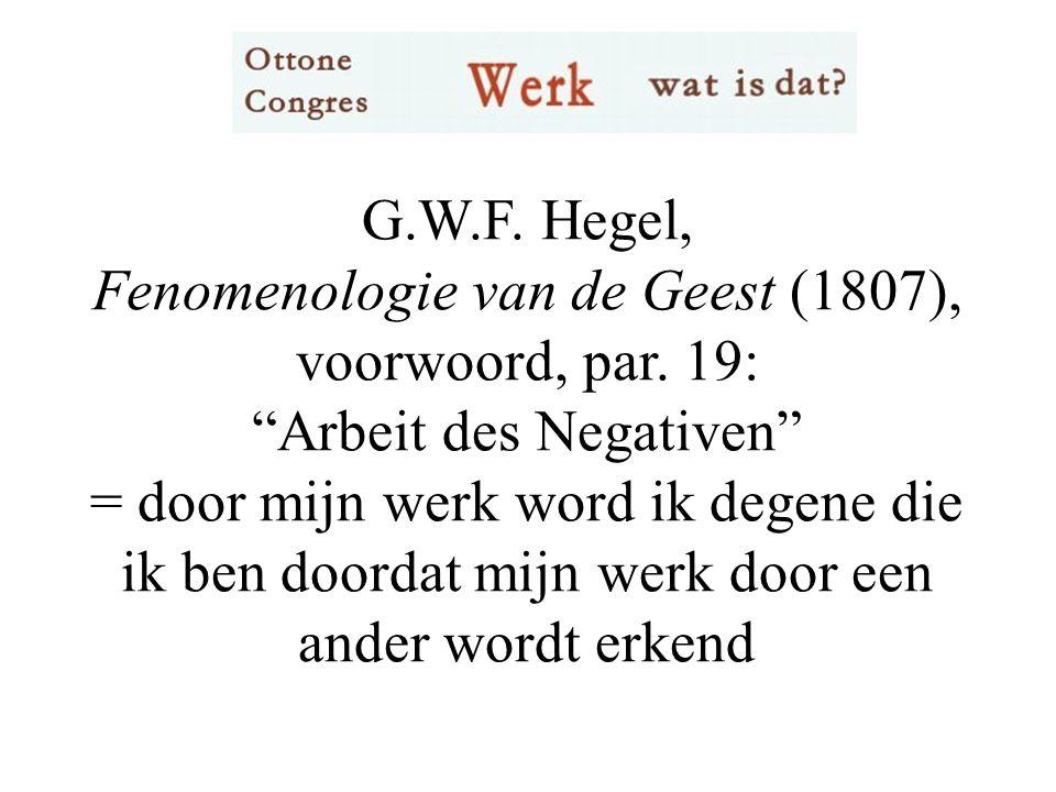 G.W.F. Hegel, Fenomenologie van de Geest (1807), voorwoord, par.