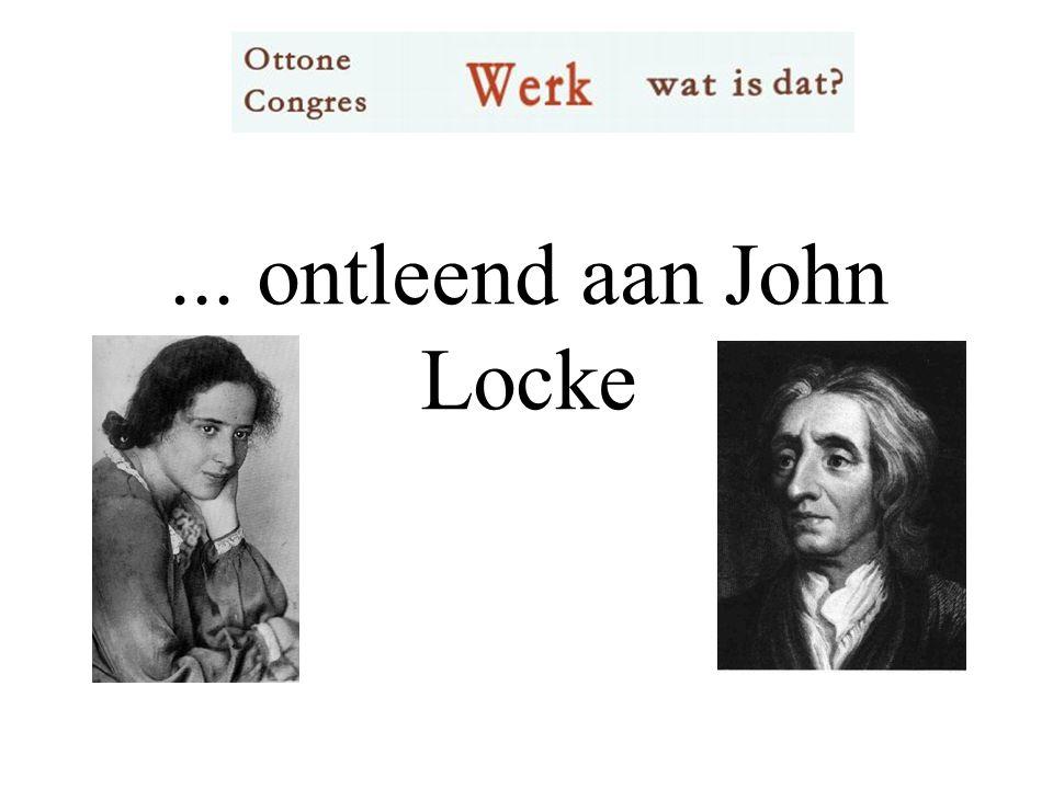 ... ontleend aan John Locke