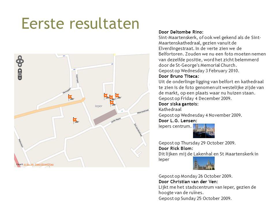 Eerste resultaten Door Deltombe Rino: Sint-Maartenskerk, of ook wel gekend als de Sint- Maartenskathedraal, gezien vanuit de Elverdingestraat.