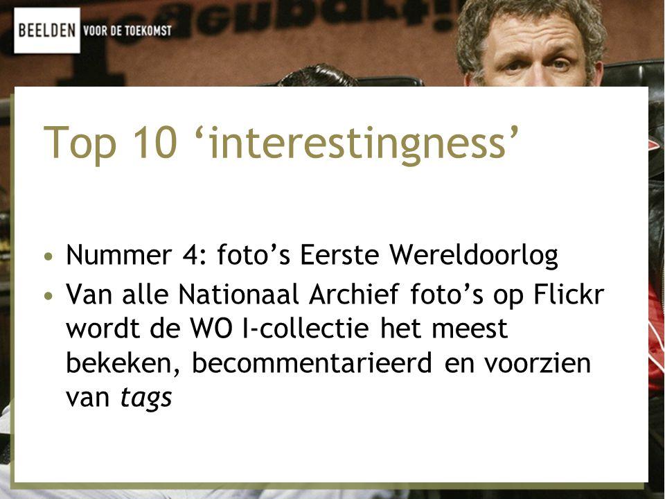 Top 10 Interestingness