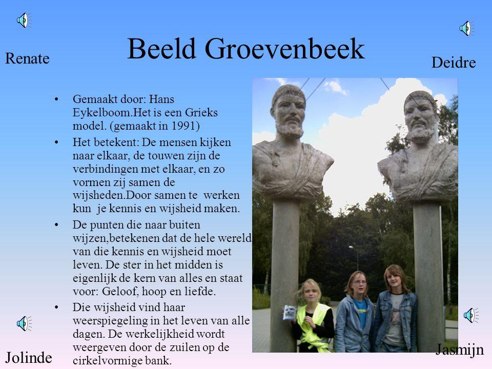 Beeld Groevenbeek •Gemaakt door: Hans Eykelboom.Het is een Grieks model.