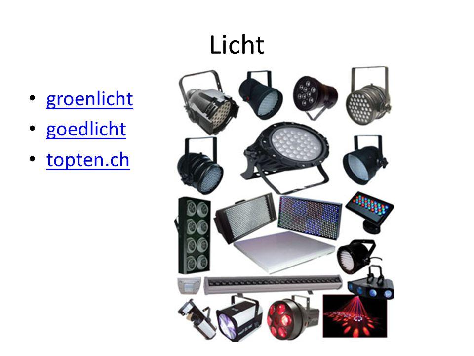 Licht • groenlicht groenlicht • goedlicht goedlicht • topten.ch topten.ch