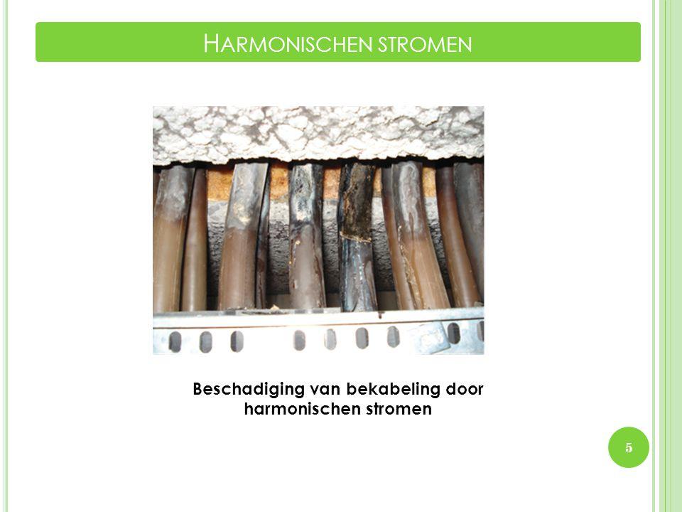 5 H ARMONISCHEN STROMEN Beschadiging van bekabeling door harmonischen stromen
