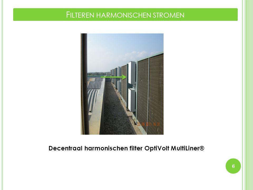 Decentraal harmonischen filter OptiVolt MultiLiner® 6 F ILTEREN HARMONISCHEN STROMEN