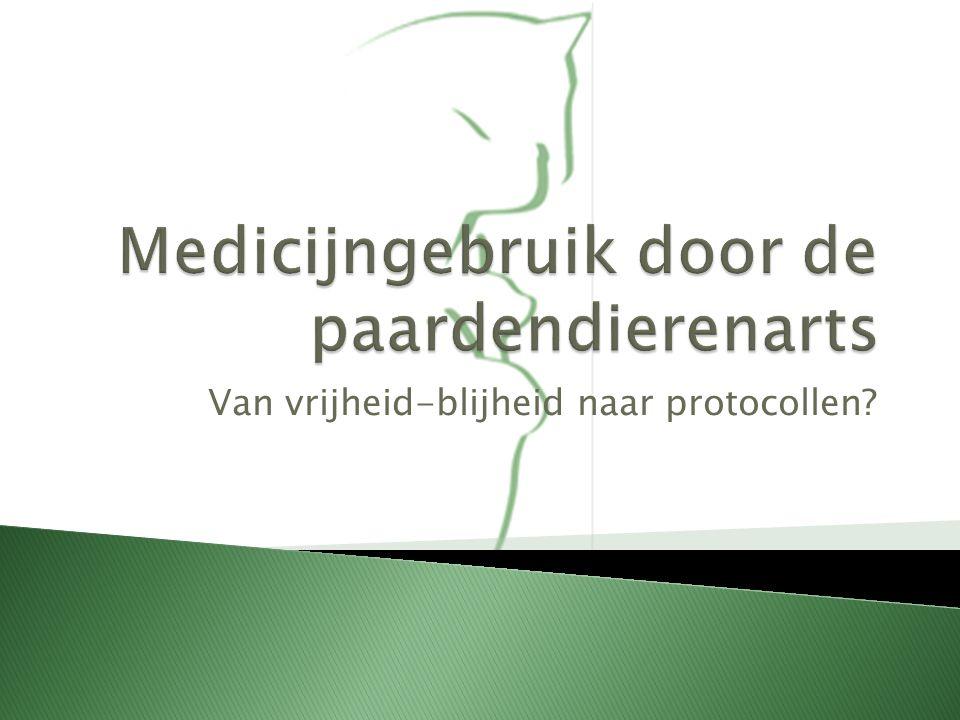  EU-verordening  Lijst van stoffen die essentieel zijn voor behandeling van paardachtigen.