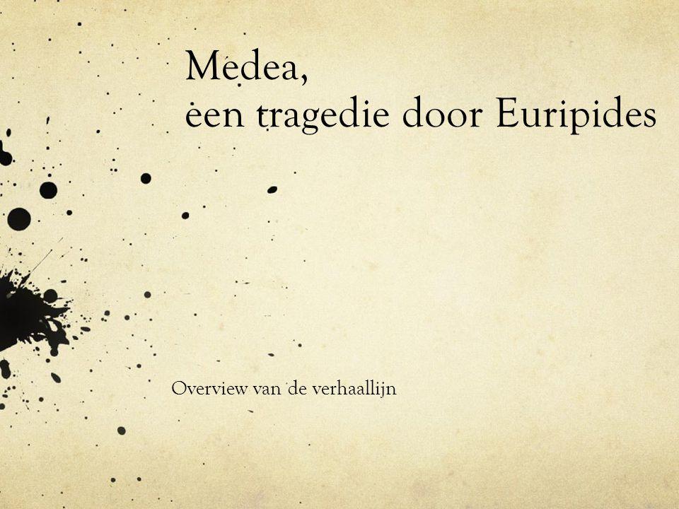 Medea, een tragedie door Euripides Overview van de verhaallijn