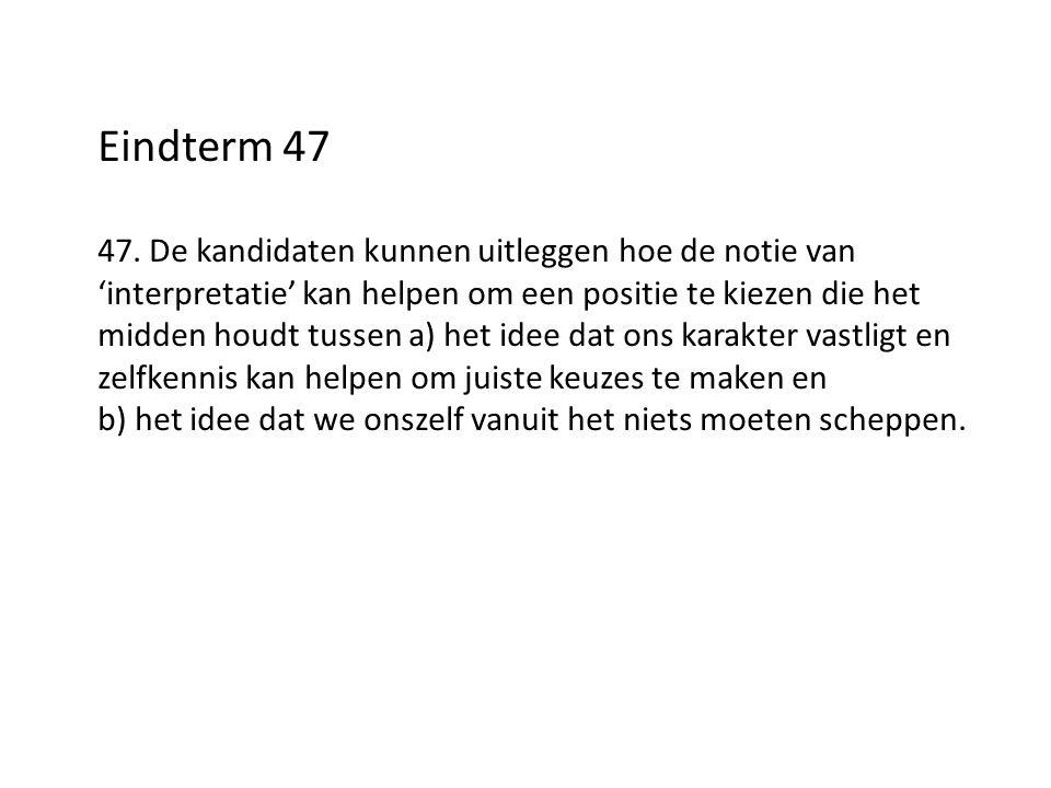 Eindterm 47 47.