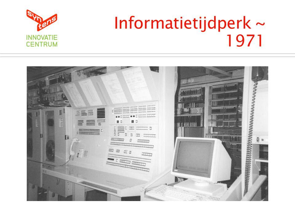 Informatietijdperk ~ 1971