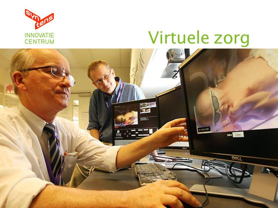 45 Versmelten fysieke en digitale wereld Virtuele zorg
