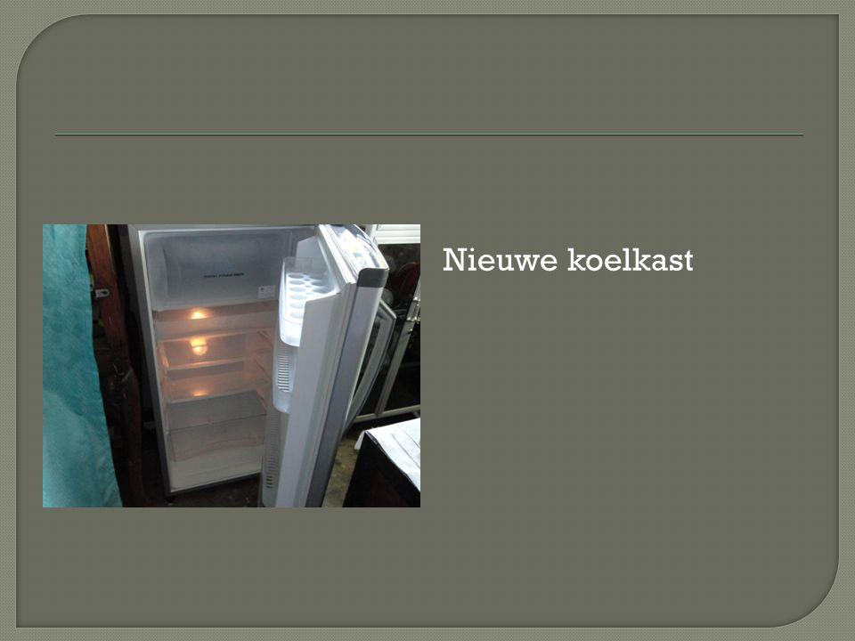 Nieuwe koelkast