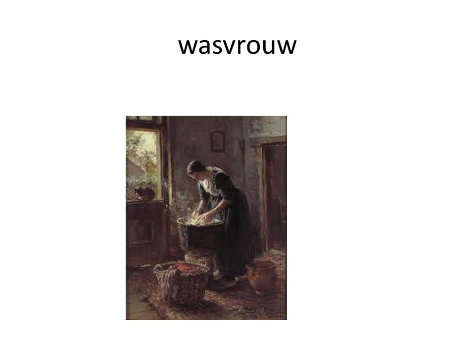 wasvrouw