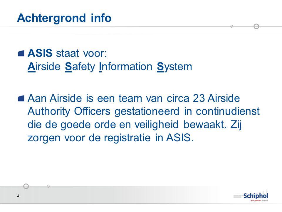 13 Hoe wordt er door AAS gemeld aan ABL 1.Op basis van RICHTLIJN 2003/42/EG VAN HET EUROPEES PARLEMENT EN DE RAAD van 13 juni 2003 inzake de melding van voorvallen in de burgerluchtvaart, worden voorvallen in de afgelopen 72 uur, individueel gemeld.
