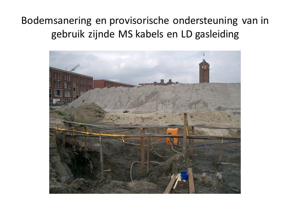 Beschadiging kabelzinker door oeverbeschoeiing ondanks goede informatie uitwisseling Rode pilon werkelijke liggingWitte pilon aangewezen ligging