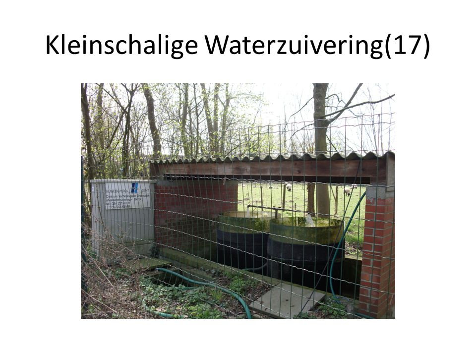 Kleinschalige Waterzuivering(17)