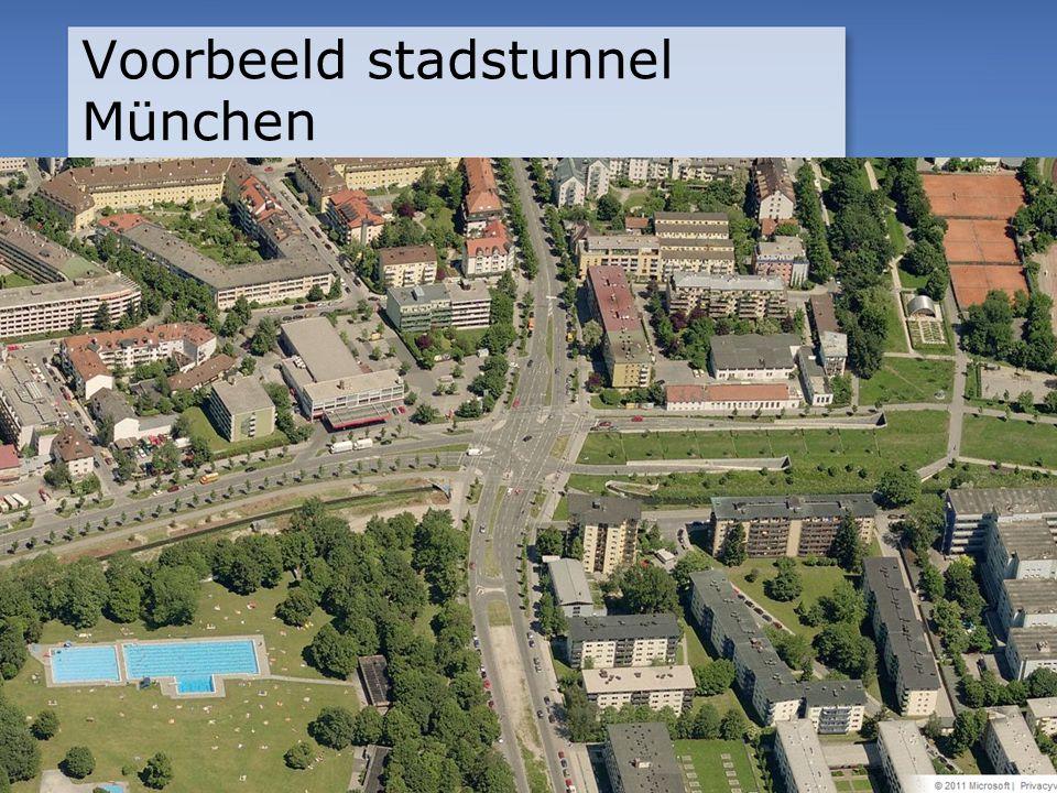 Voorbeeld stadstunnel München