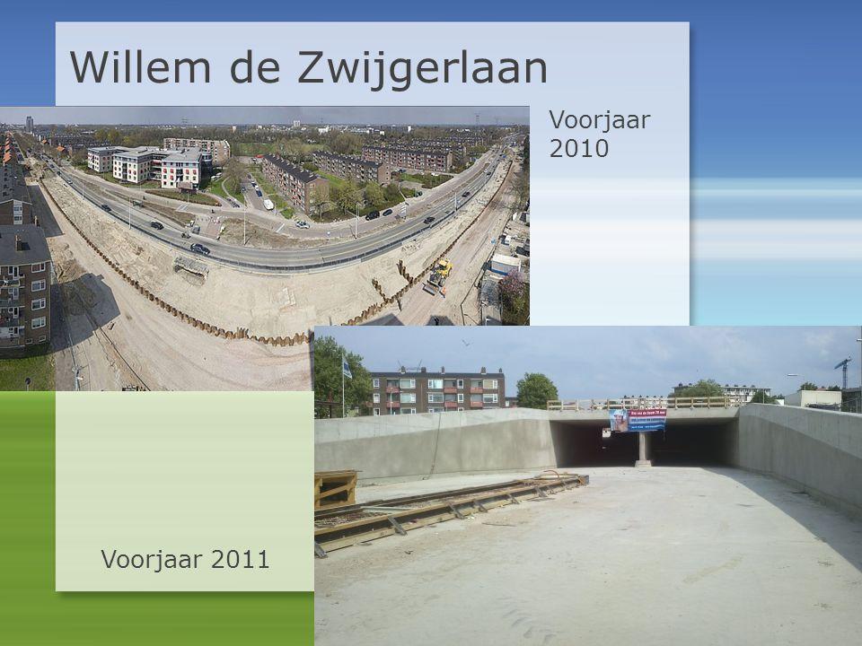 Willem de Zwijgerlaan Voorjaar 2010 Voorjaar 2011