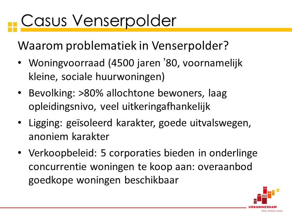 Waarom problematiek in Venserpolder.