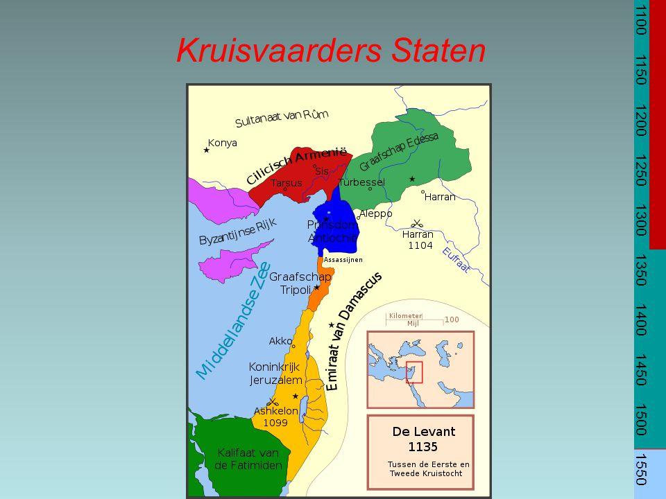 Kruisvaarders Staten 1100 1150 1200 1250 1300 1350 1400 1450 1500 1550