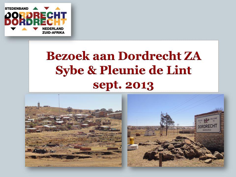 Waar ligt Dordrecht?