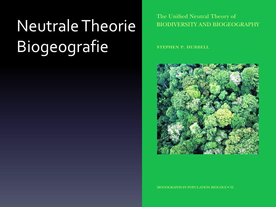 Neutrale Theorie Biogeografie
