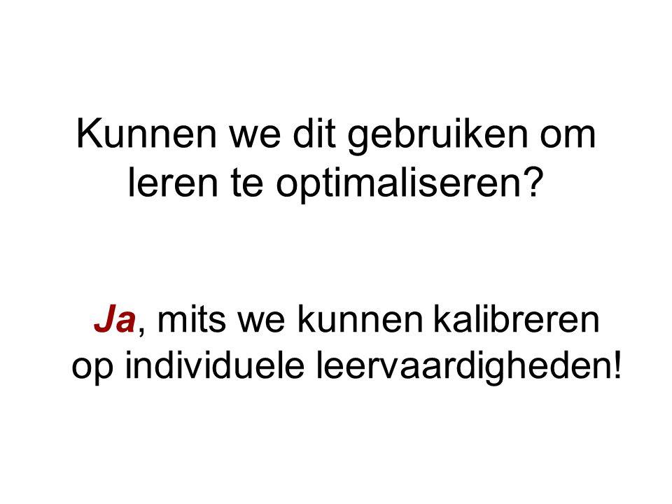 Meer leren door SlimStampen Hedderik van Rijn Experimentele Psychologie
