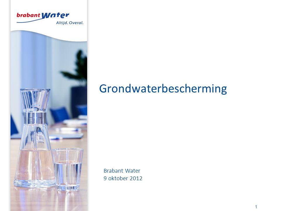 Grondwaterbescherming 1 Brabant Water 9 oktober 2012
