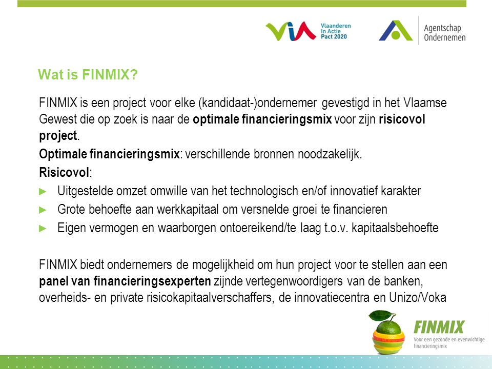 Wat is FINMIX.