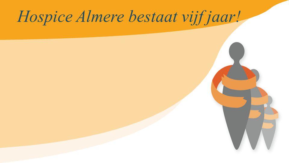 Hospice Almere bestaat vijf jaar !