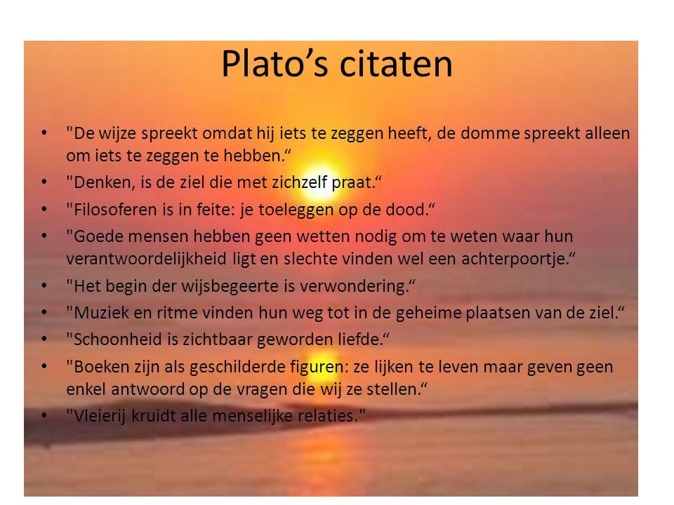 Plato's citaten •